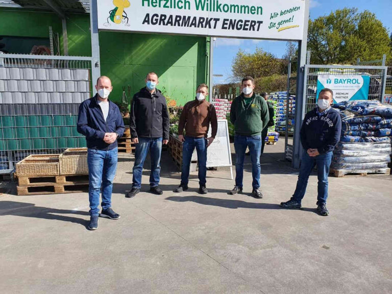 Freie Wähler Bürstadt bei Agrarmarkt Engert_
